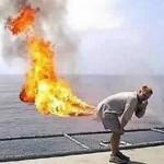 オナラに火をつけるとどうなる?